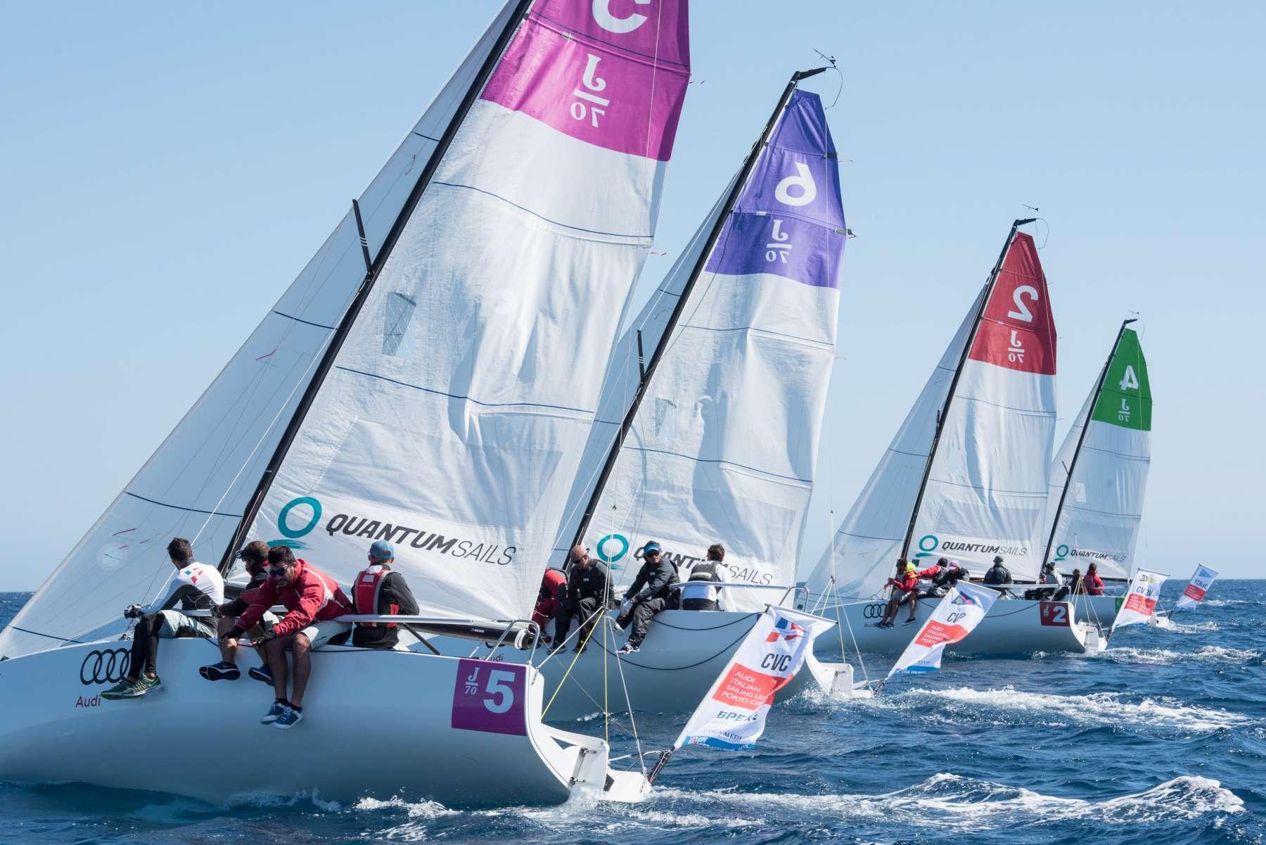 Audi Italian Sailing League Final gets underway - NEWS - Yacht Club Costa Smeralda