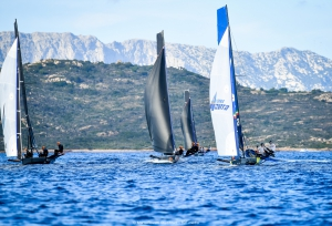 Young Azzurra leads provisional overall classification in Grand Prix 4.1 Persico 69F Cup - NEWS - Yacht Club Costa Smeralda