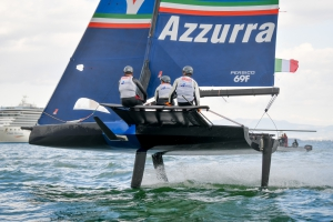 Youth Foiling Gold Cup: positive second day of finals for Young Azzurra - NEWS - Yacht Club Costa Smeralda