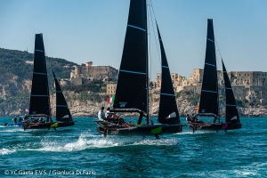 Day one of Youth Foiling Gold Cup - NEWS - Yacht Club Costa Smeralda
