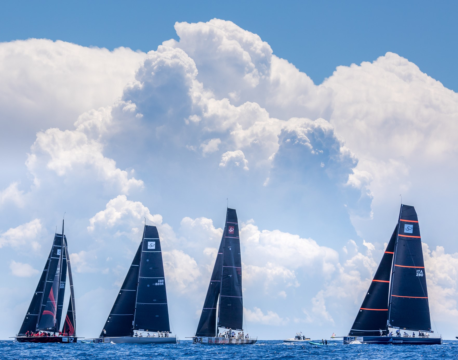 I SOCI YCCS ALLA MENORCA 52 SUPER SERIES SAILING WEEK - NEWS - Yacht Club Costa Smeralda