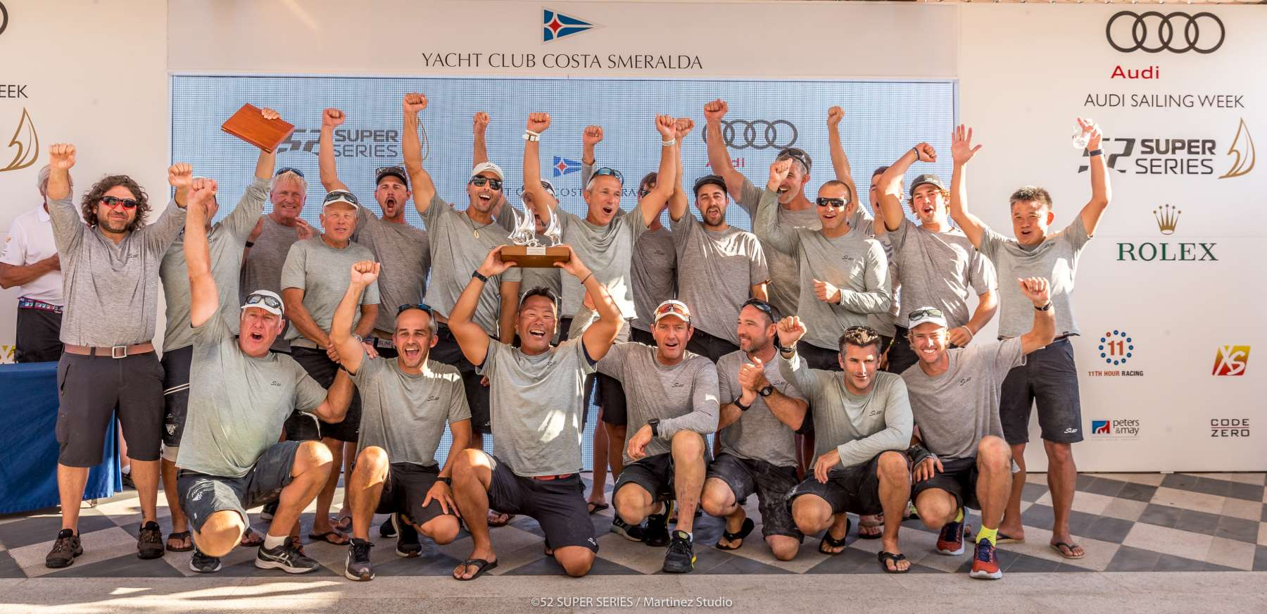 Audi 52 Super Series Sailing Week  - Porto Cervo 2019 - 1