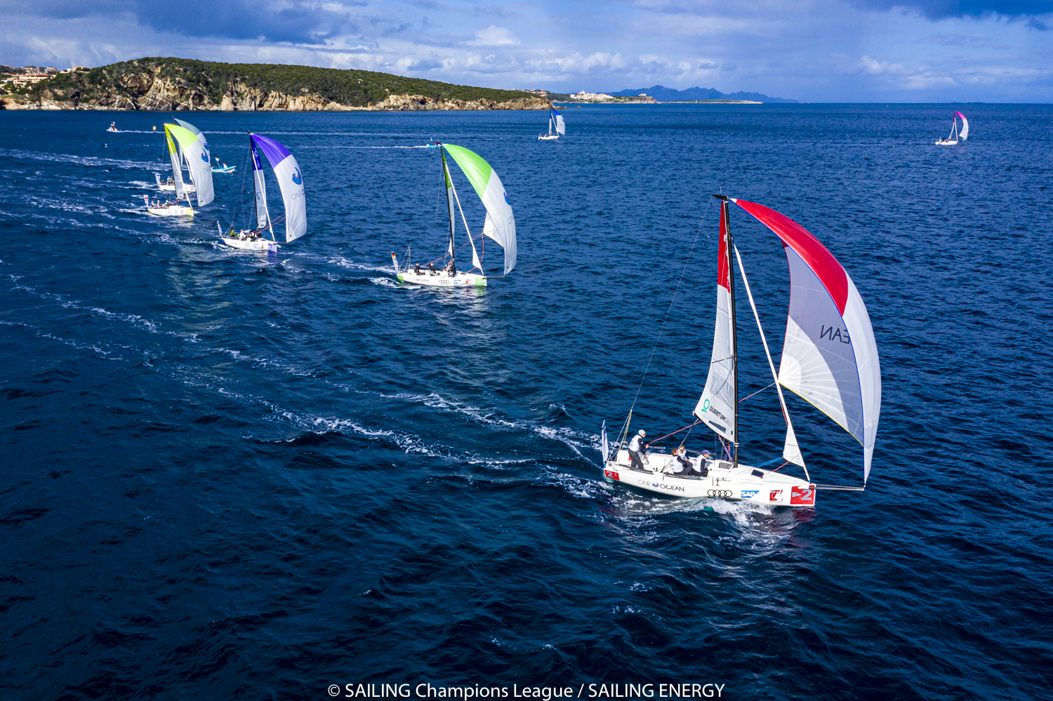 Audi SAILING Champions League Final, the Leaders change on day two - NEWS - Yacht Club Costa Smeralda