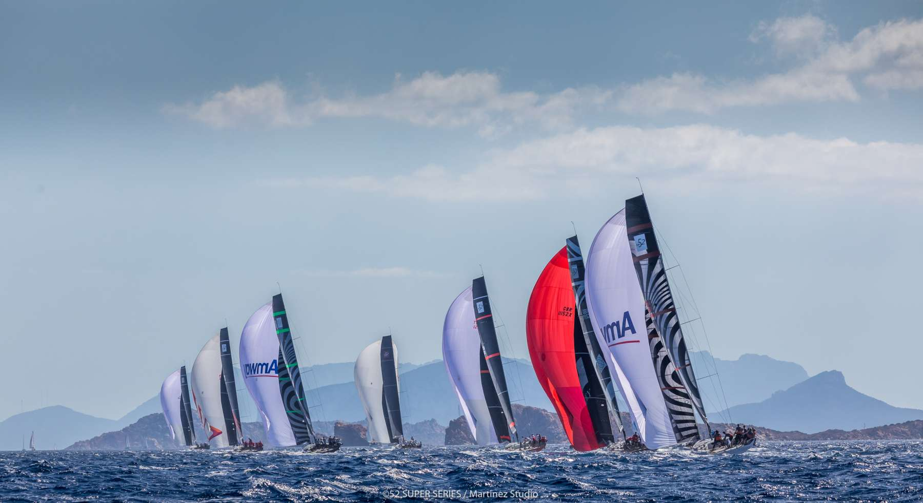 Spettacolo a mare nella penultima giornata dell'Audi 52 Super Series Sailing Week  - NEWS - Yacht Club Costa Smeralda