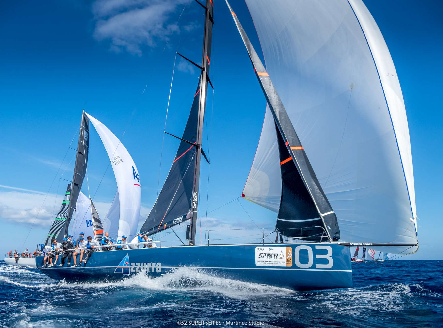 Final Day of Audi 52 Super Series Sailing Week  - NEWS - Yacht Club Costa Smeralda
