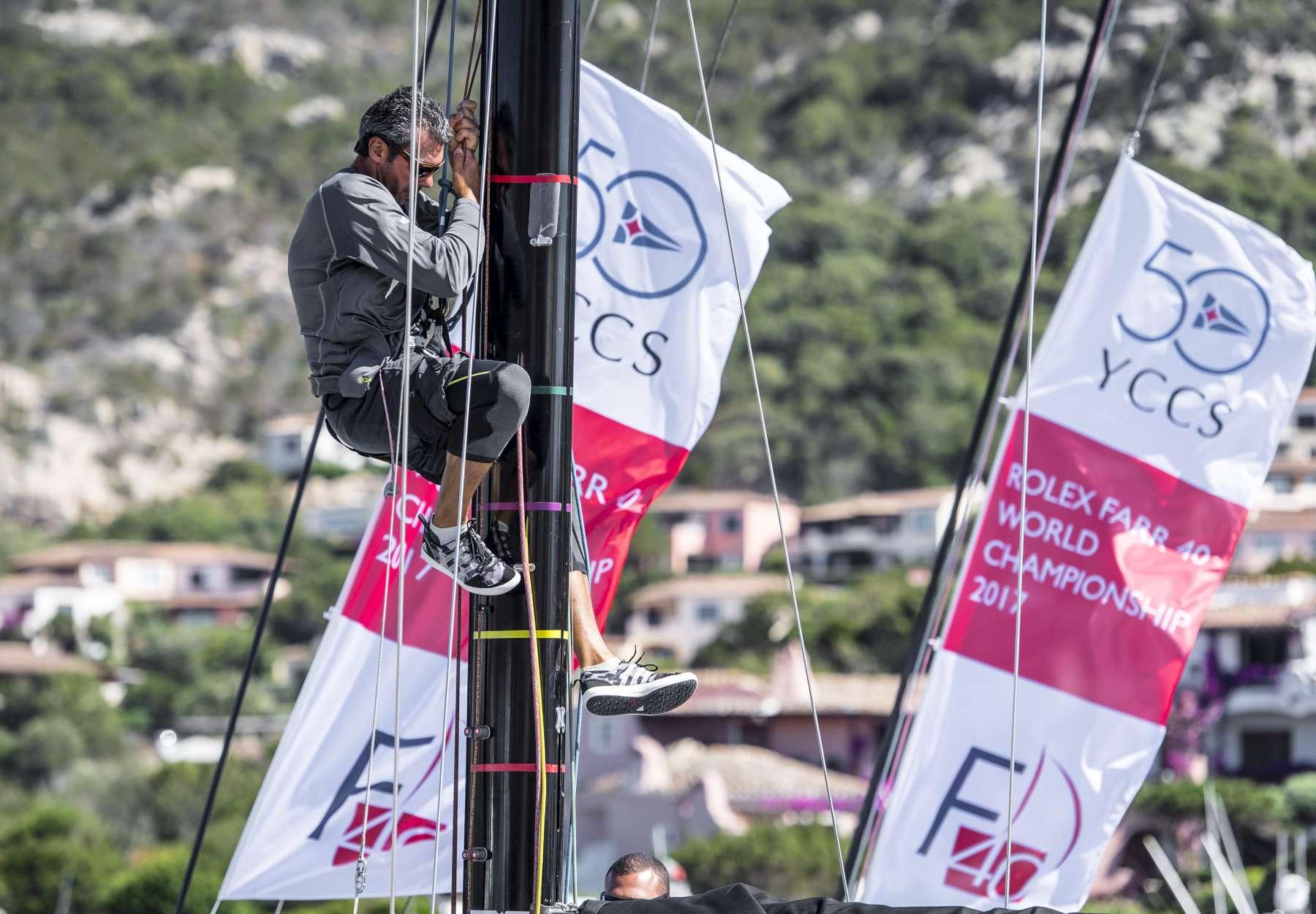 Rolex Farr 40 World Championship: Regate annullate a causa del maestrale - NEWS - Yacht Club Costa Smeralda