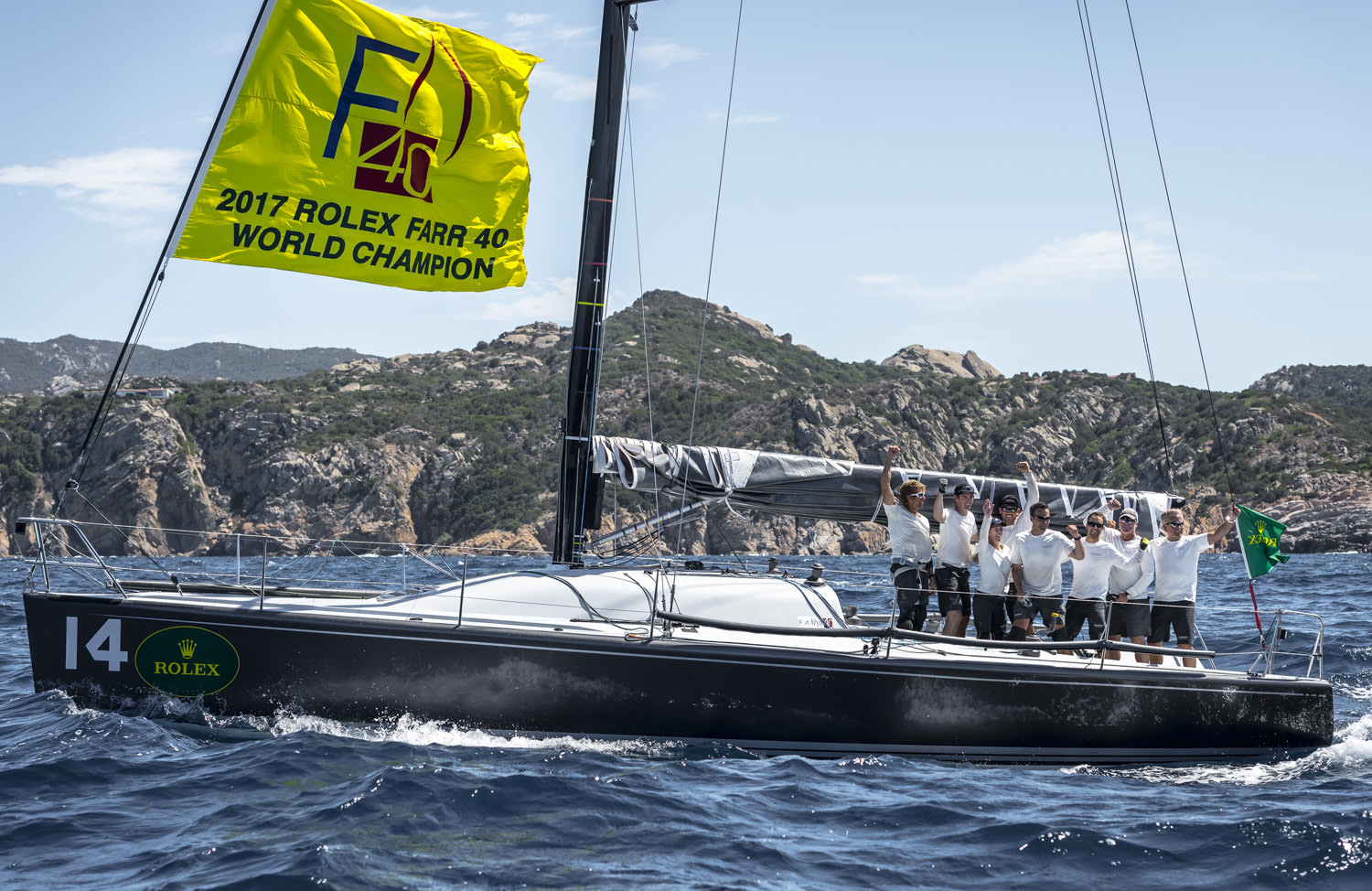 Plenty vince in Costa Smeralda il 20° Rolex Farr 40 Worlds  - NEWS - Yacht Club Costa Smeralda