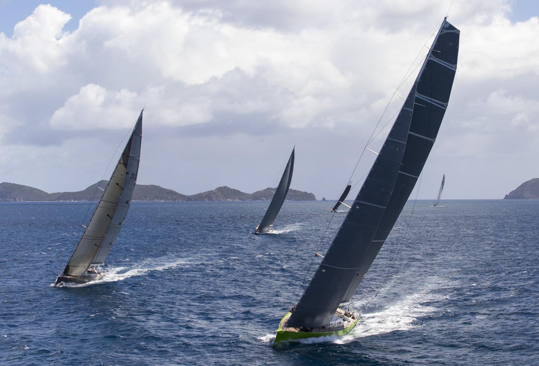 CLOSE RACING AT LORO PIANA CARIBBEAN SUPERYACHT REGATTA & RENDEZVOUS  - NEWS - Yacht Club Costa Smeralda