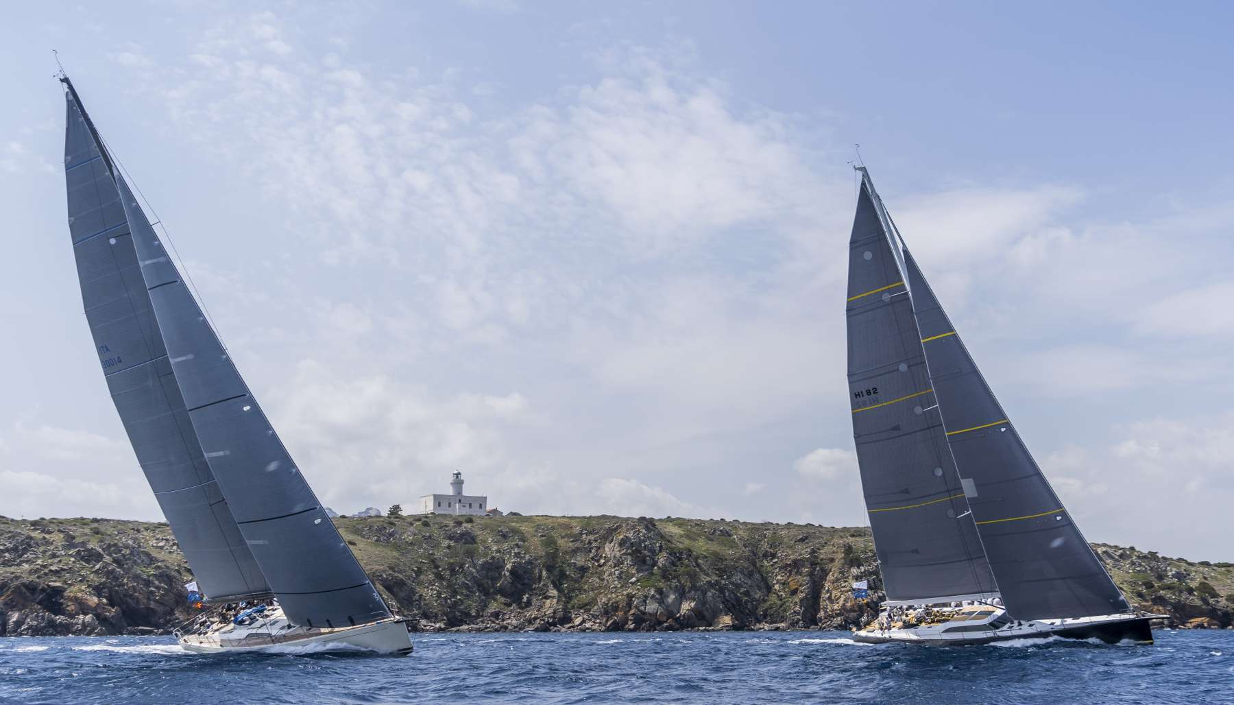 Loro Piana Superyacht Regatta - Grande Orazio leads at Southern Wind Trophy - NEWS - Yacht Club Costa Smeralda