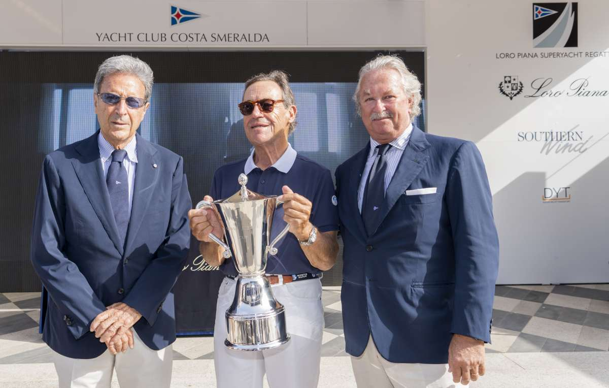 Loro Piana Superyacht Regatta - vincono Magic Carpet 3, Silencio e Grande Orazio  - NEWS - Yacht Club Costa Smeralda