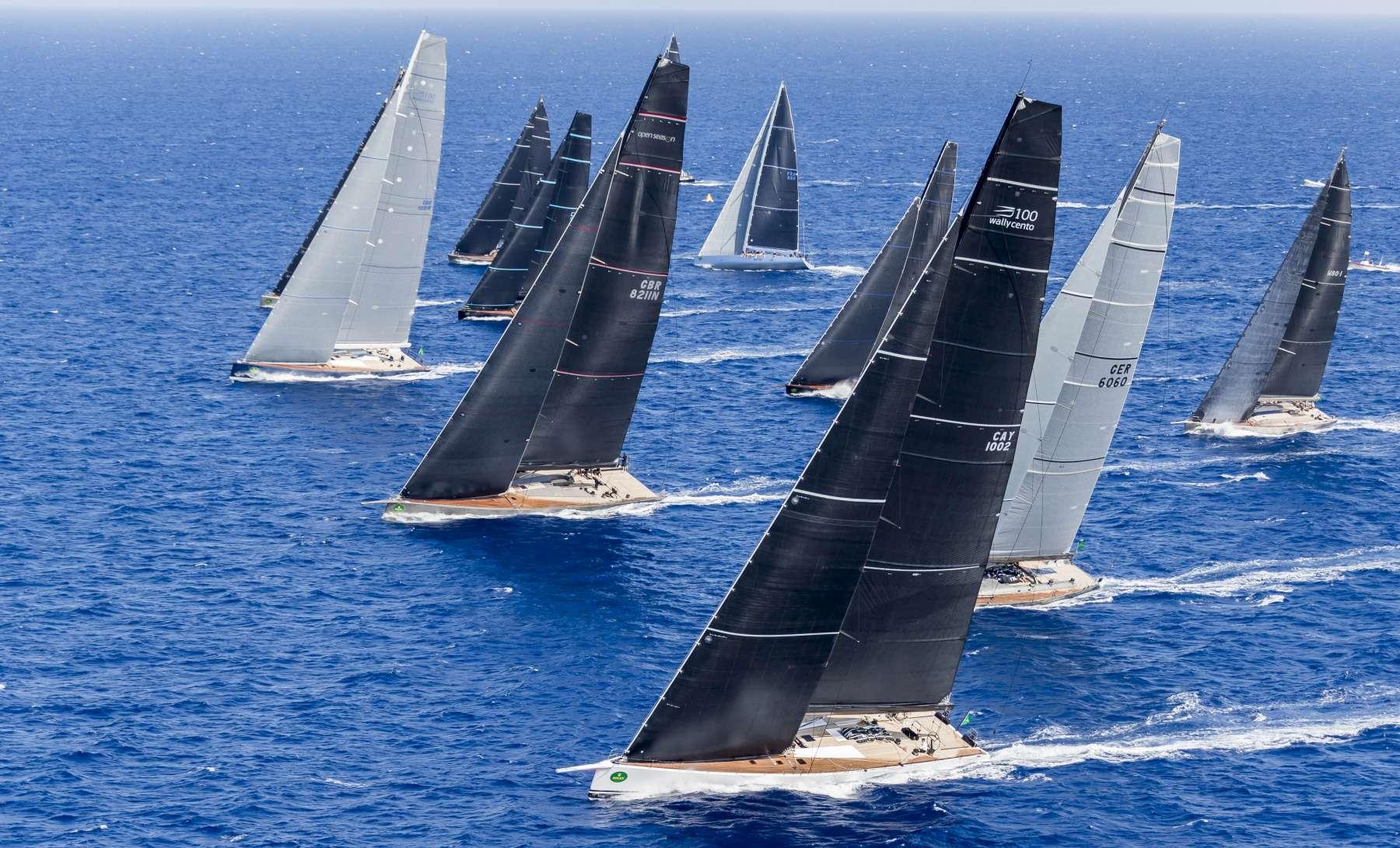 Momo and Galateia lengthen their Class leads - NEWS - Yacht Club Costa Smeralda