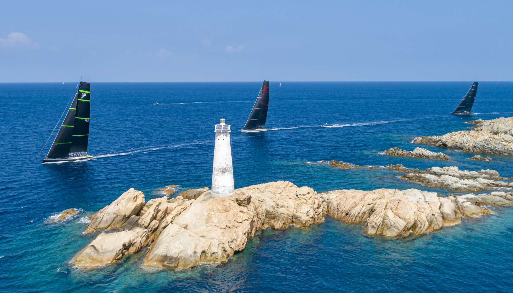Down to business on day two of Maxi Yacht Rolex Cup - NEWS - Yacht Club Costa Smeralda