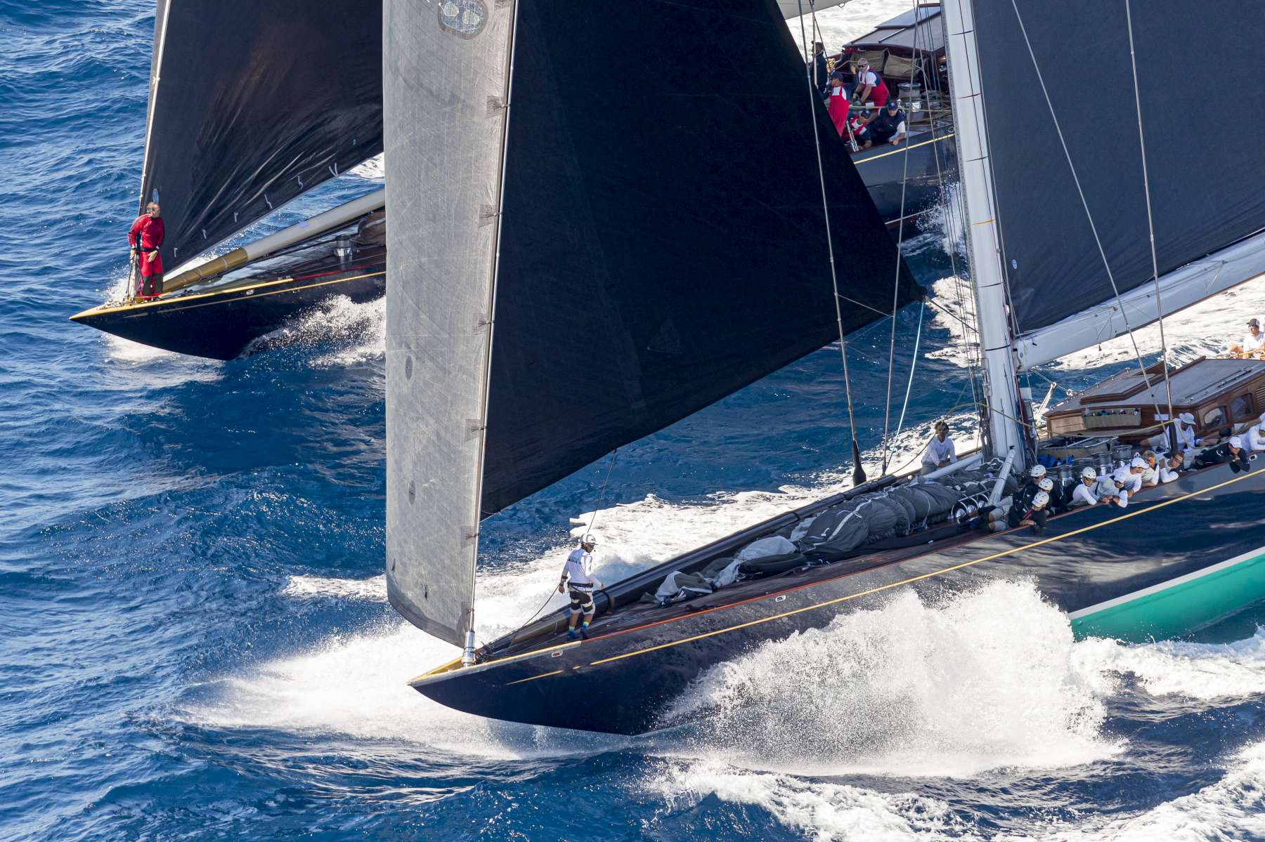 Leaderboard begins to take shape at Maxi Yacht Rolex Cup  - NEWS - Yacht Club Costa Smeralda