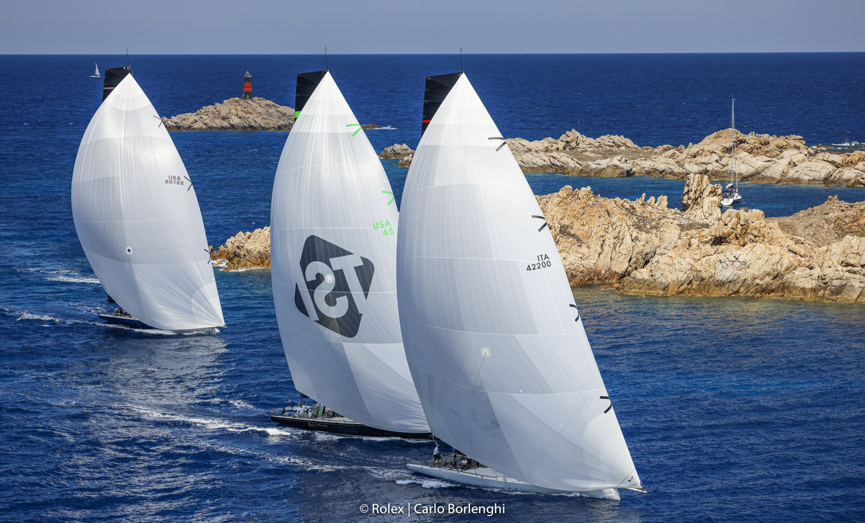 Ottimo avvio per la 31^ edizione della Maxi Yacht Rolex Cup - NEWS - Yacht Club Costa Smeralda