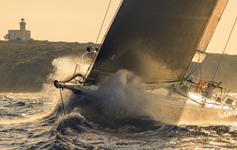 Terza giornata di grande vela alla Maxi Yacht Rolex Cup - NEWS - Yacht Club Costa Smeralda