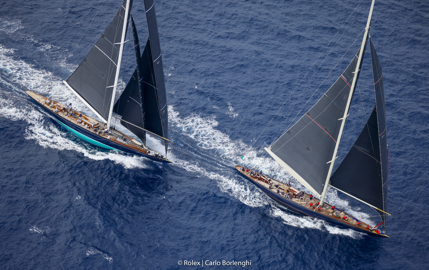 Fourth day of intense racing at 31st Maxi Yacht Rolex Cup - NEWS - Yacht Club Costa Smeralda