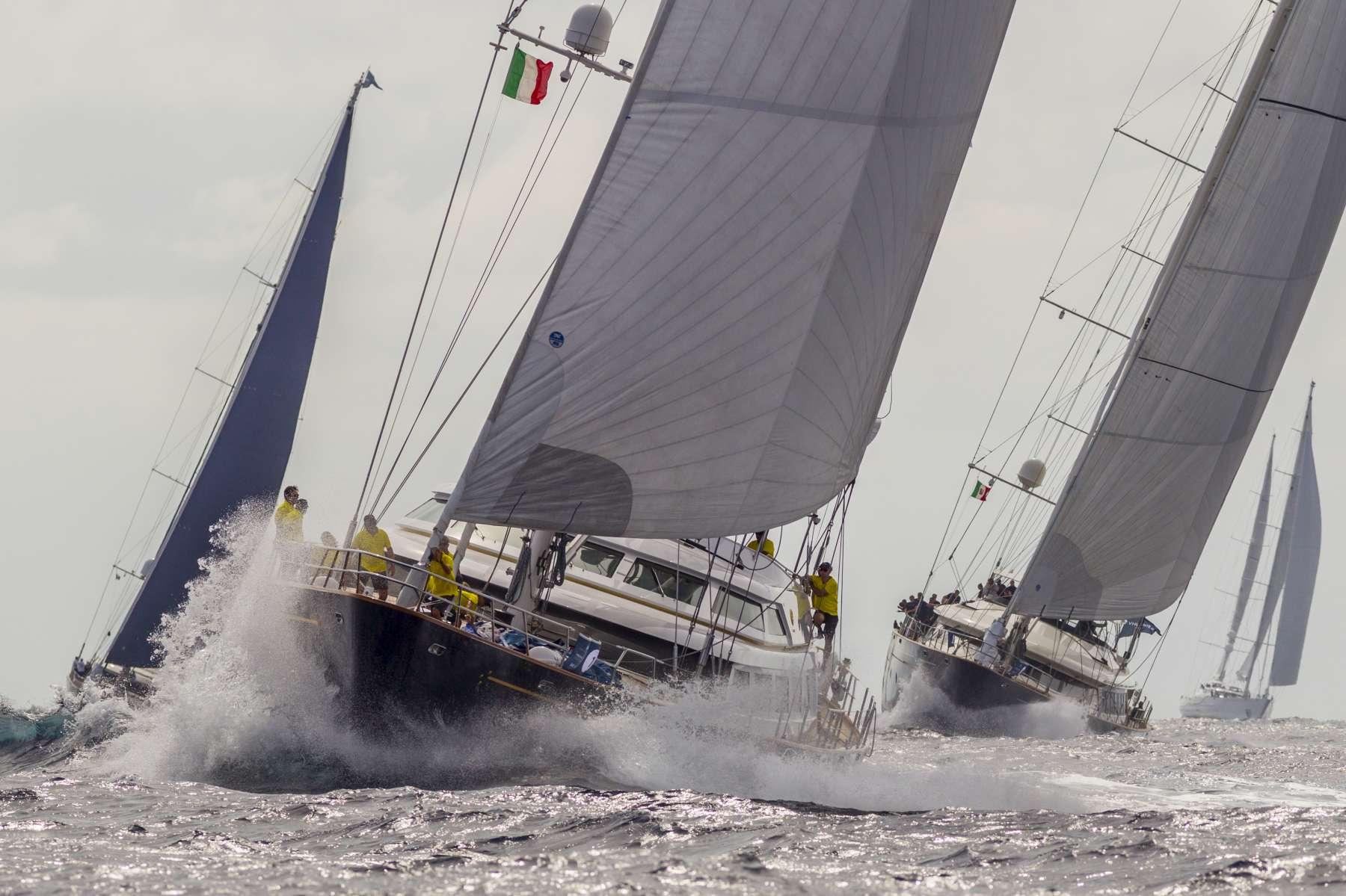 Perini Navi Cup: Silencio and Maltese Falcon winners of the day in Cruiser Racer and Corinthians Spirit classes respectively - NEWS - Yacht Club Costa Smeralda