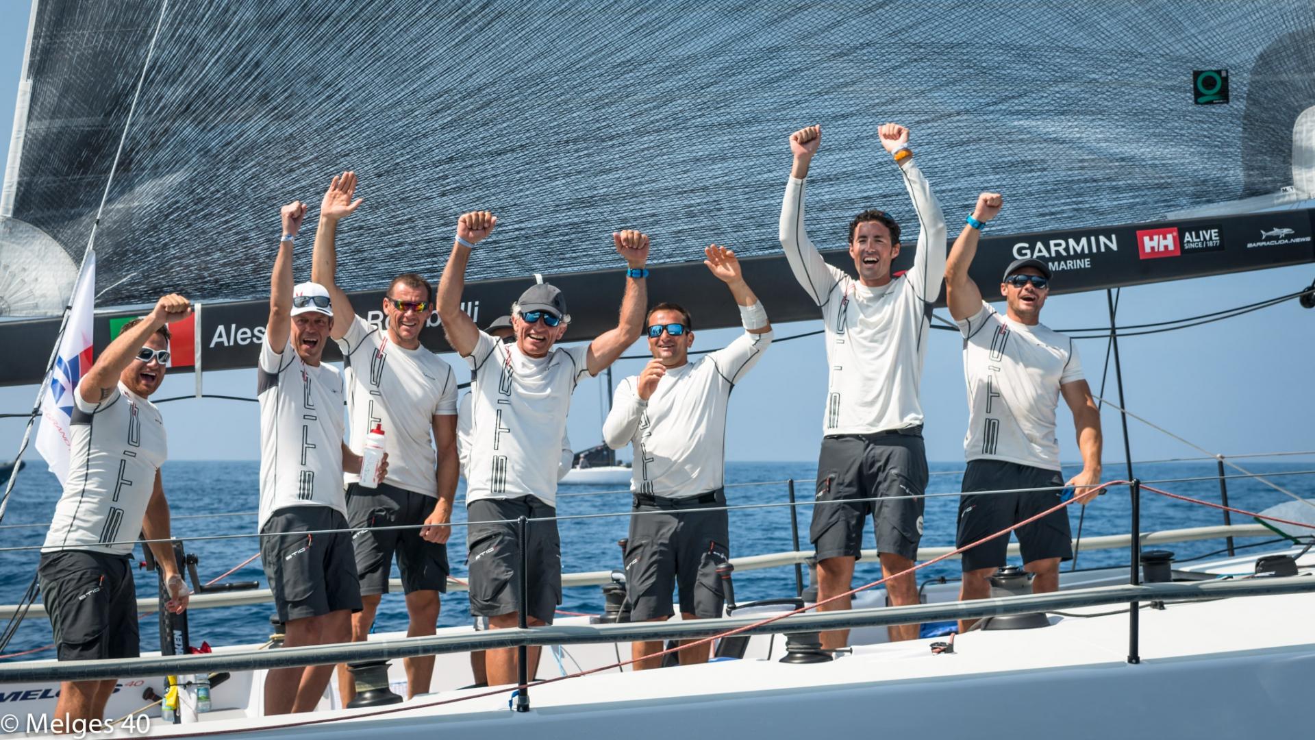 Melges 40 Grand Prix: Stig vince la prima assoluta in Costa Smeralda - NEWS - Yacht Club Costa Smeralda