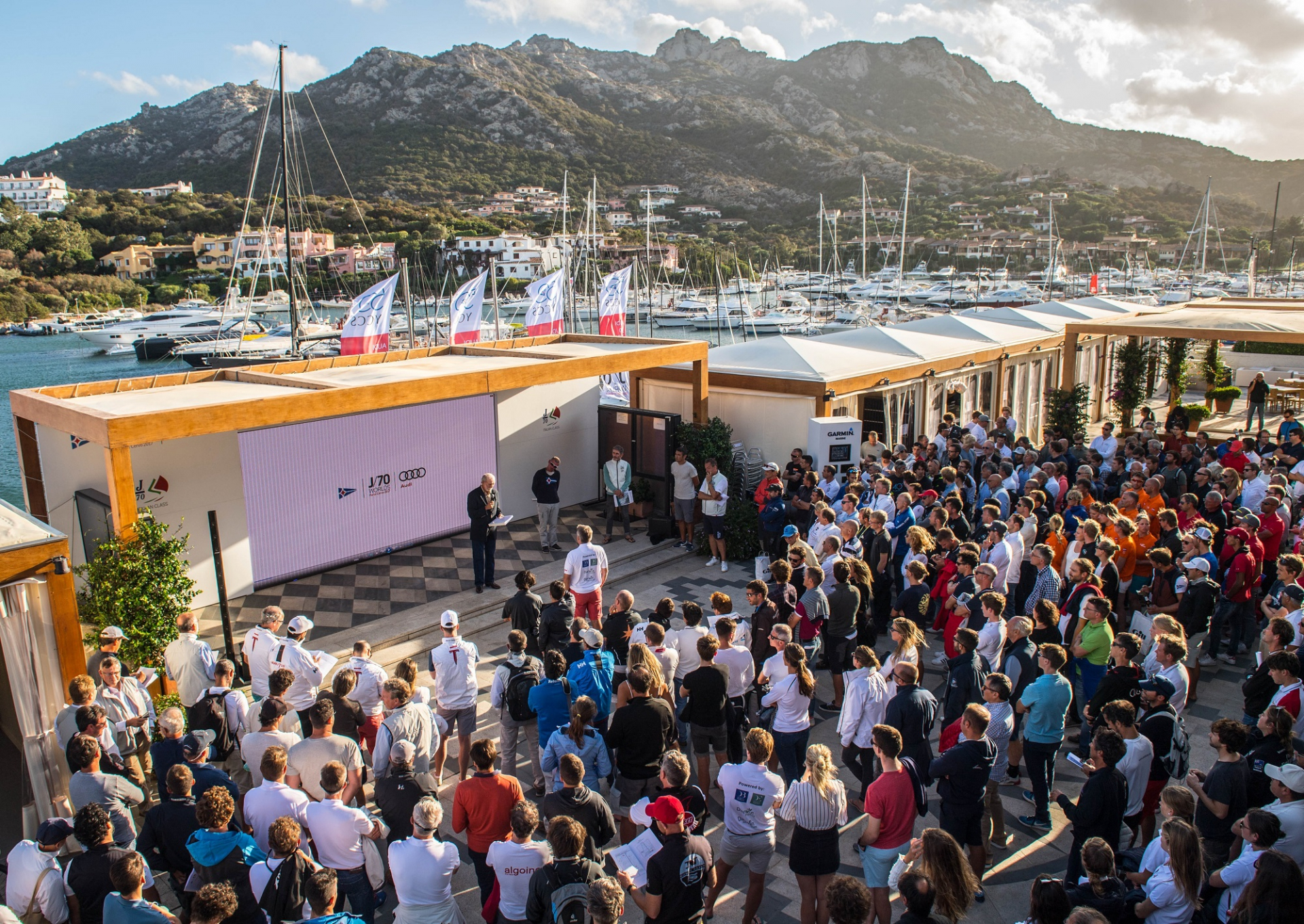 A record fleet of 171 teams is ready for the Audi J/70 World Championship - NEWS - Yacht Club Costa Smeralda