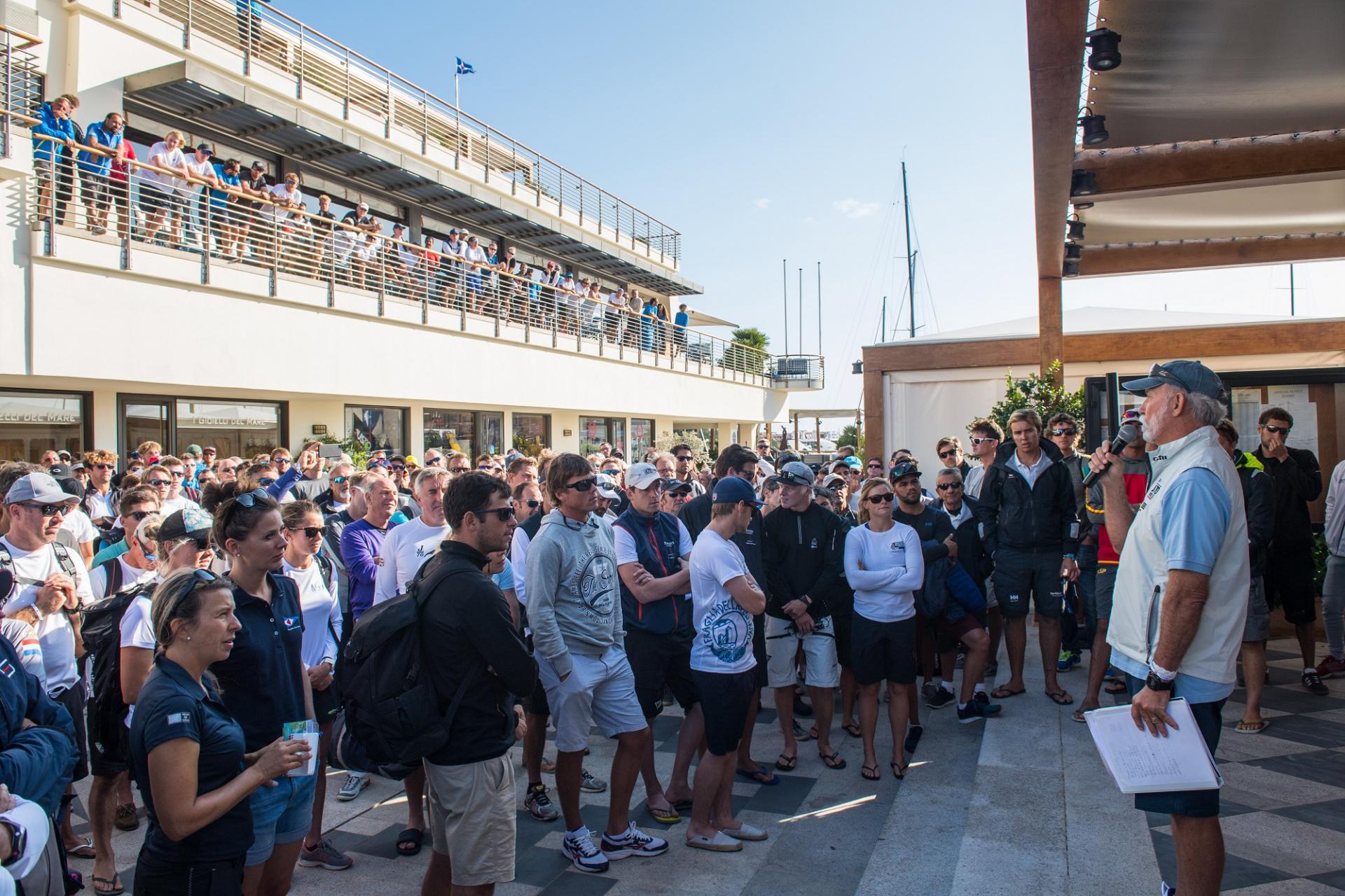 Audi J/70 World Championship: Teasing Mistral - NEWS - Yacht Club Costa Smeralda