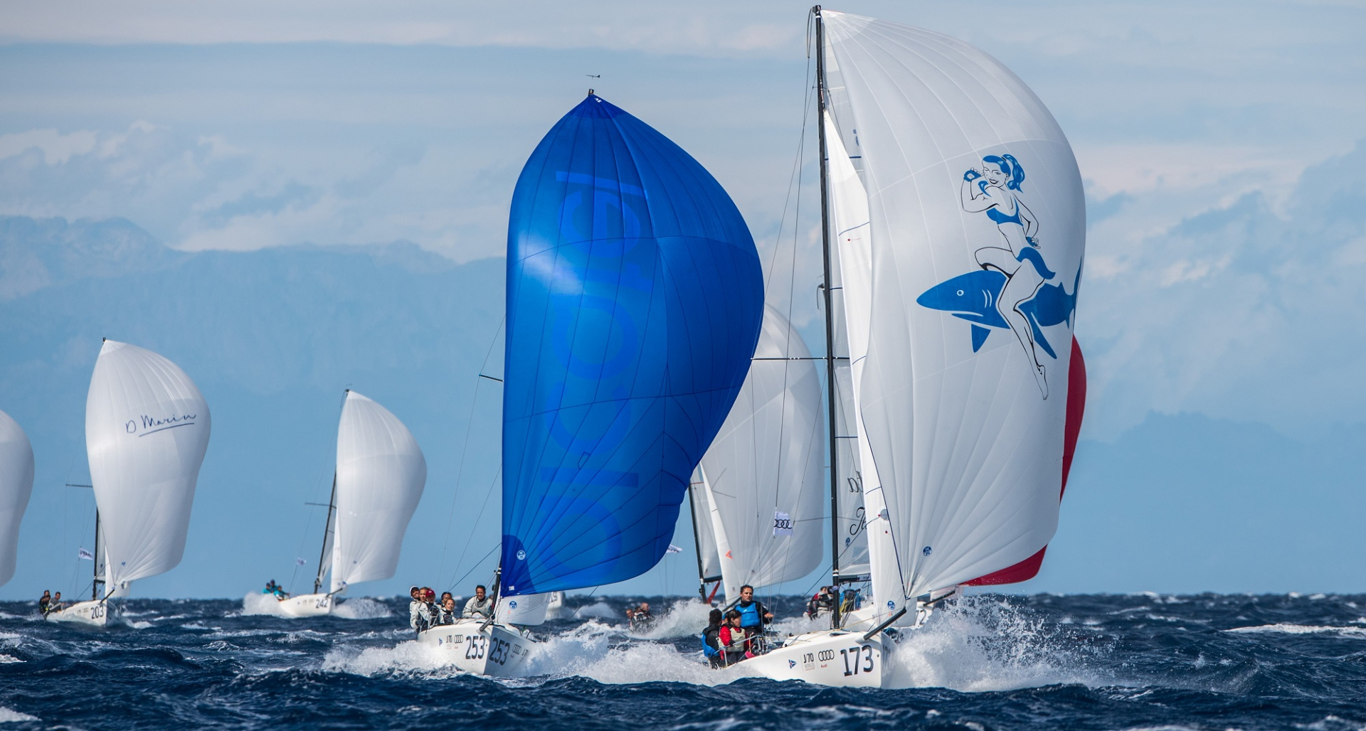 Audi J/70 World Championship: Duncan is Top of the World - NEWS - Yacht Club Costa Smeralda