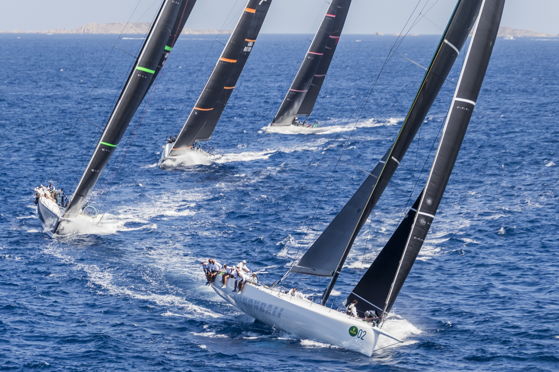 Maxi Yacht Rolex Cup: top conditions and close competition make the day - NEWS - Yacht Club Costa Smeralda