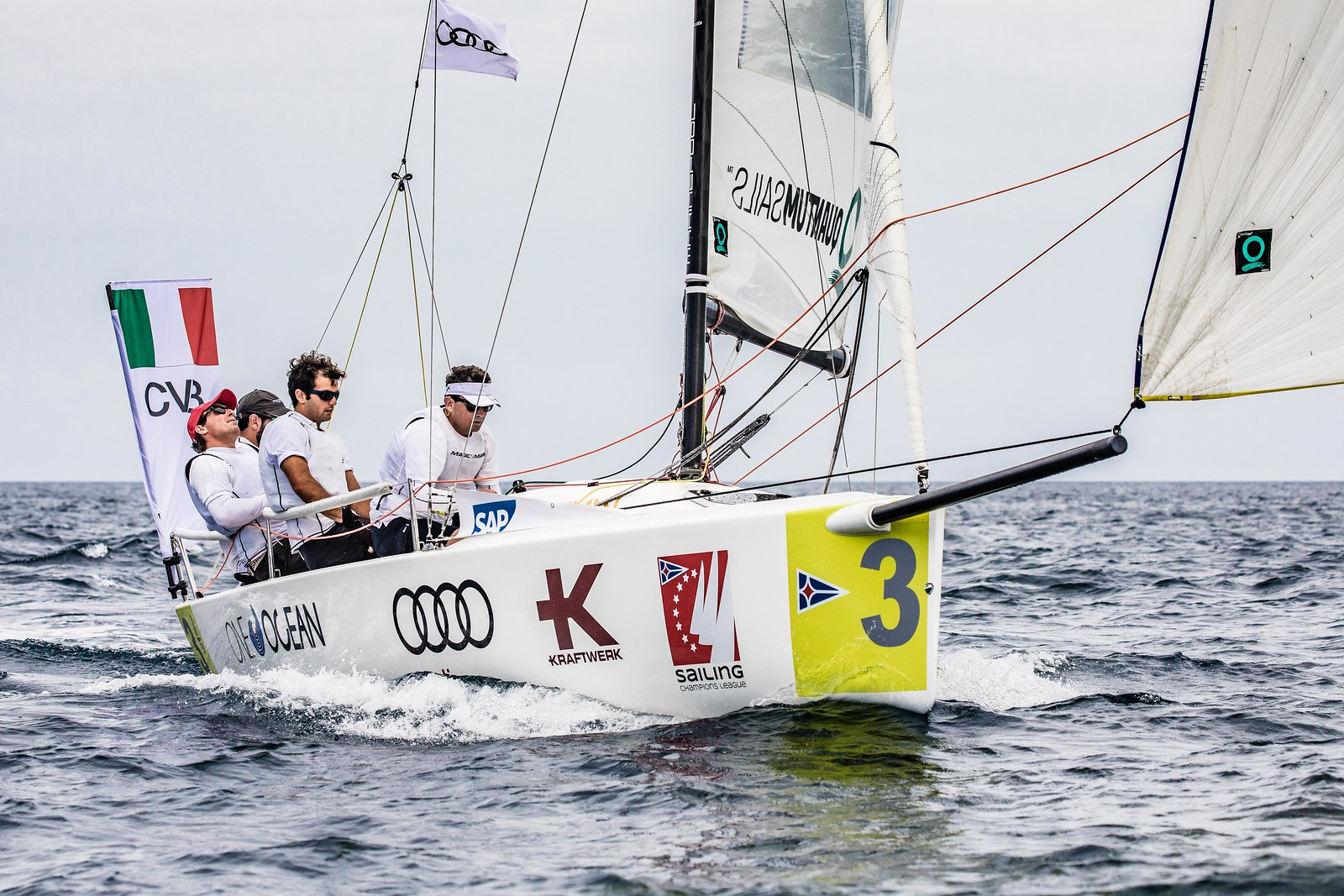 Circolo Della Vela Bari takes lead in Audi SAILING Champions League - NEWS - Yacht Club Costa Smeralda