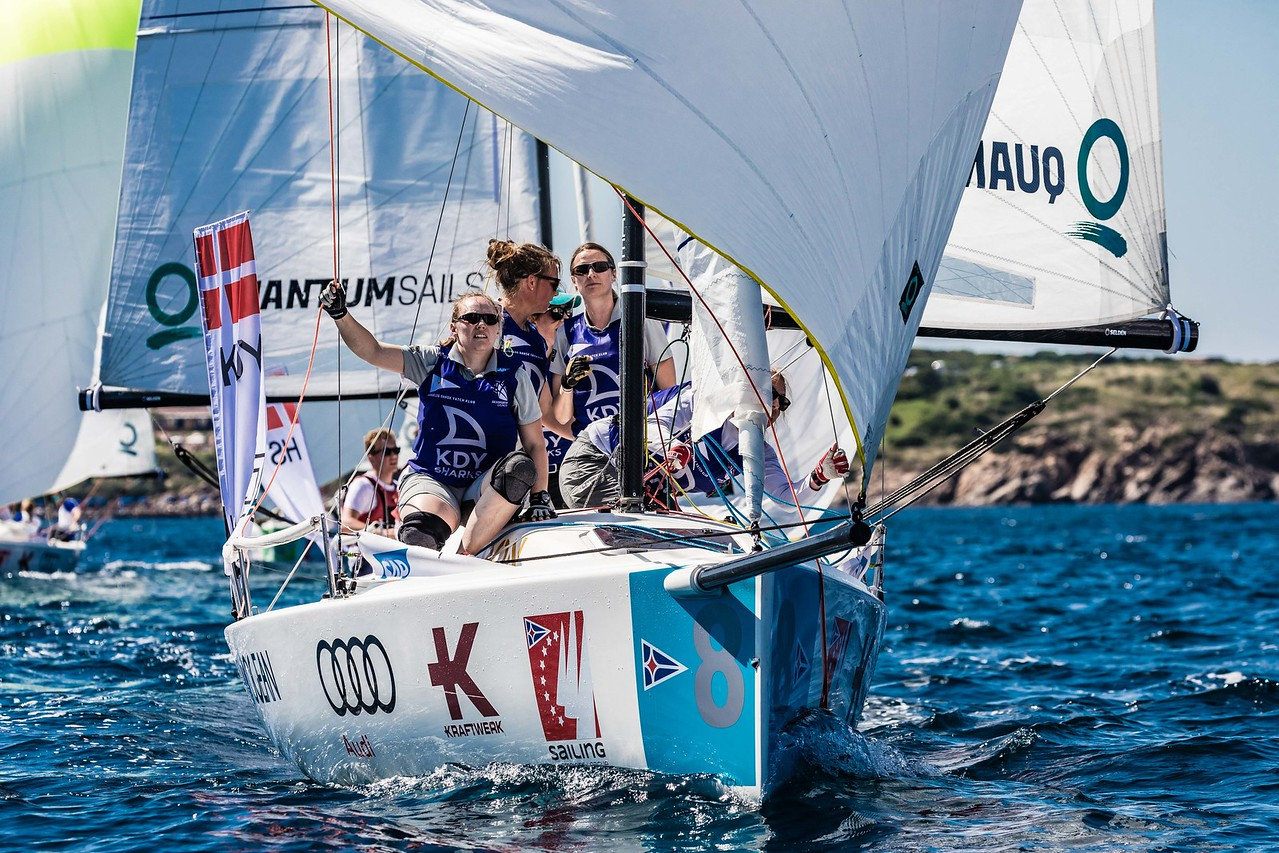 Audi SAILING Champions League: Danish team first leader of semifinals - NEWS - Yacht Club Costa Smeralda