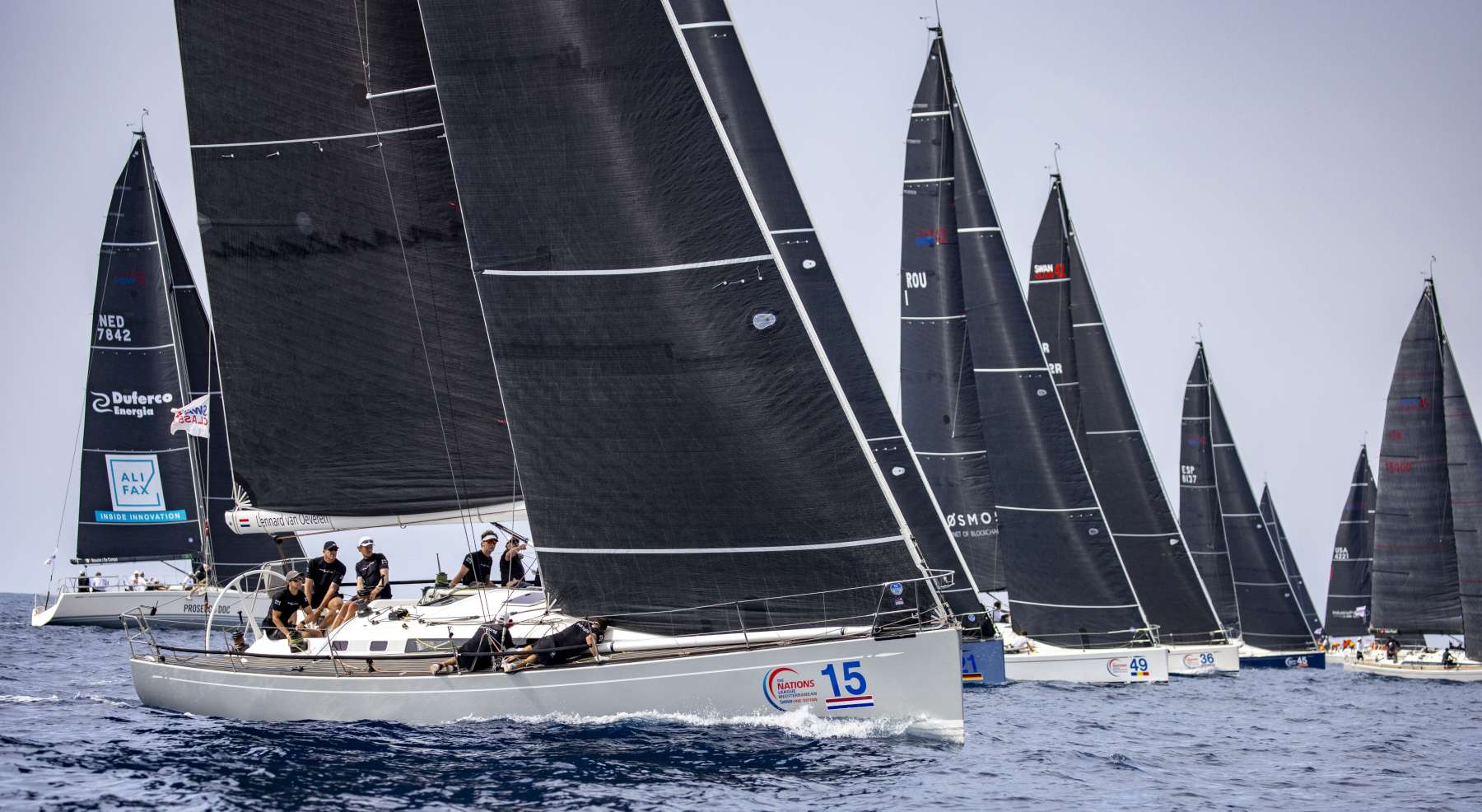 Swan Sardinia Challenge, prima giornata di regata nelle acque di Porto Cervo - NEWS - Yacht Club Costa Smeralda