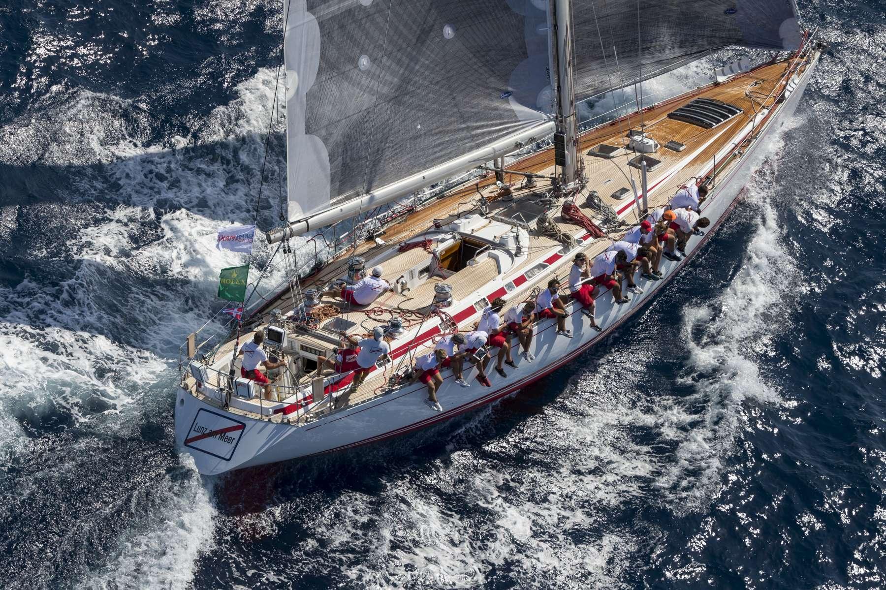 Condizioni Ideali per la flotta della 20^ Rolex Swan Cup - NEWS - Yacht Club Costa Smeralda