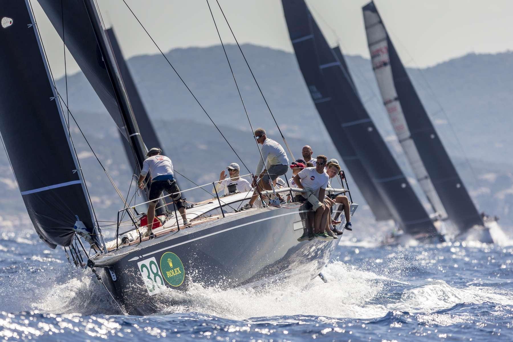 La Flotta della Rolex Swan Cup impegnata oggi nella Islands Long Race - NEWS - Yacht Club Costa Smeralda