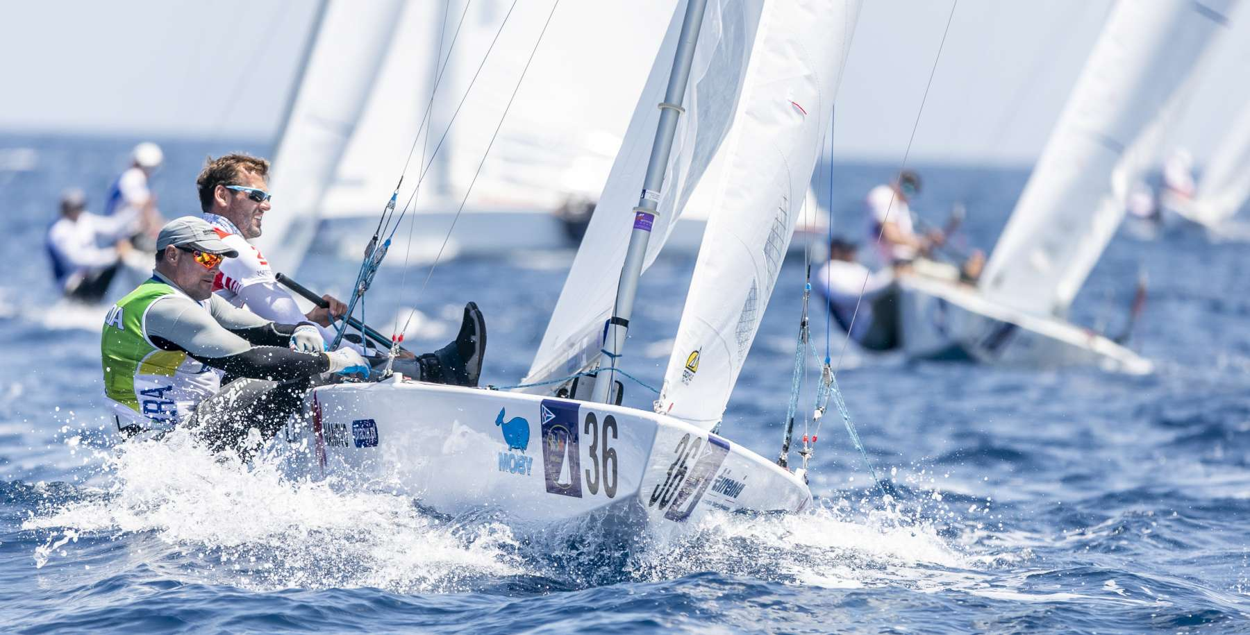 Star Class World Championship: changes at the top on Day 2   - NEWS - Yacht Club Costa Smeralda