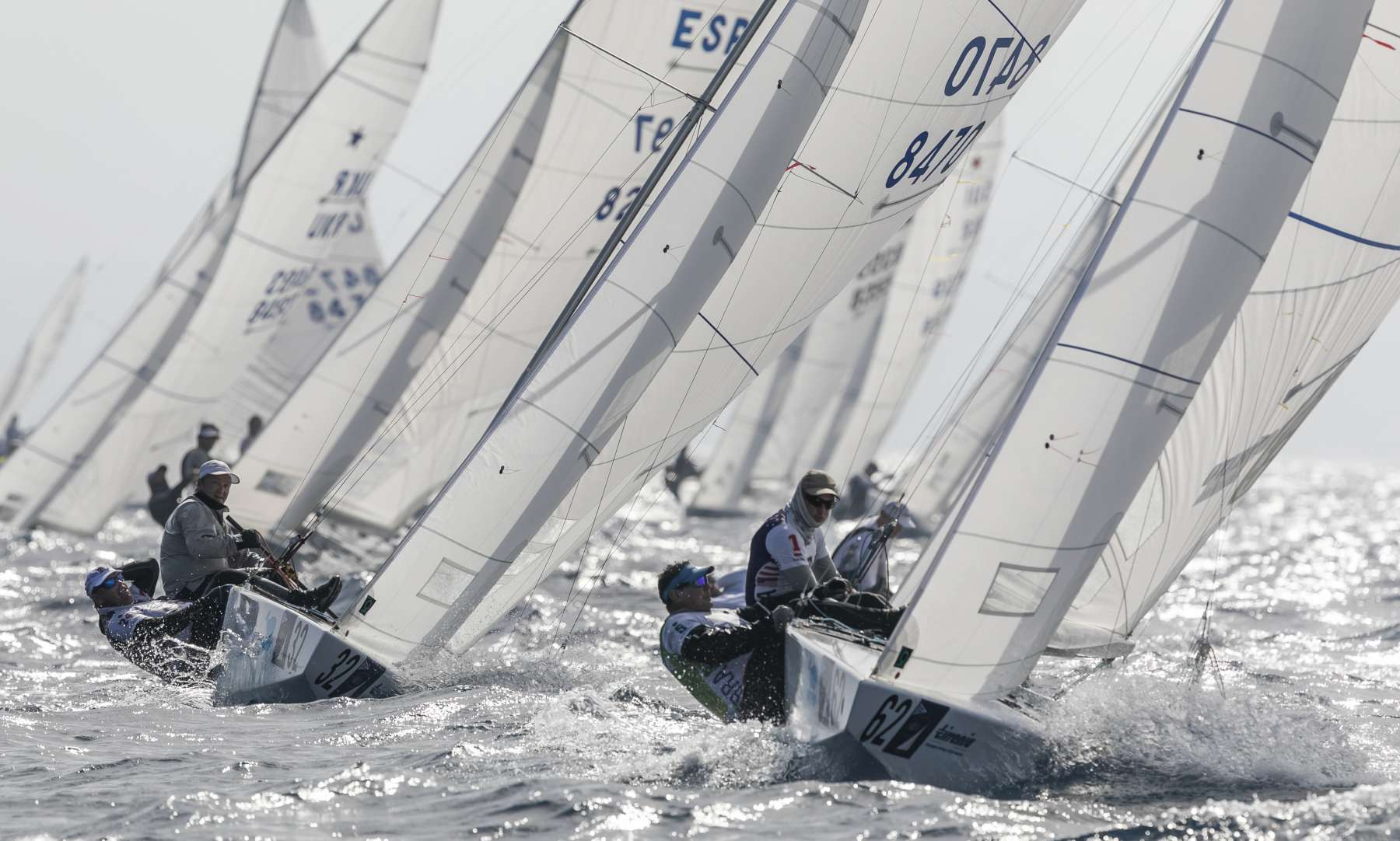 Star World Championship: a two race, intense day four for the fleet  - NEWS - Yacht Club Costa Smeralda