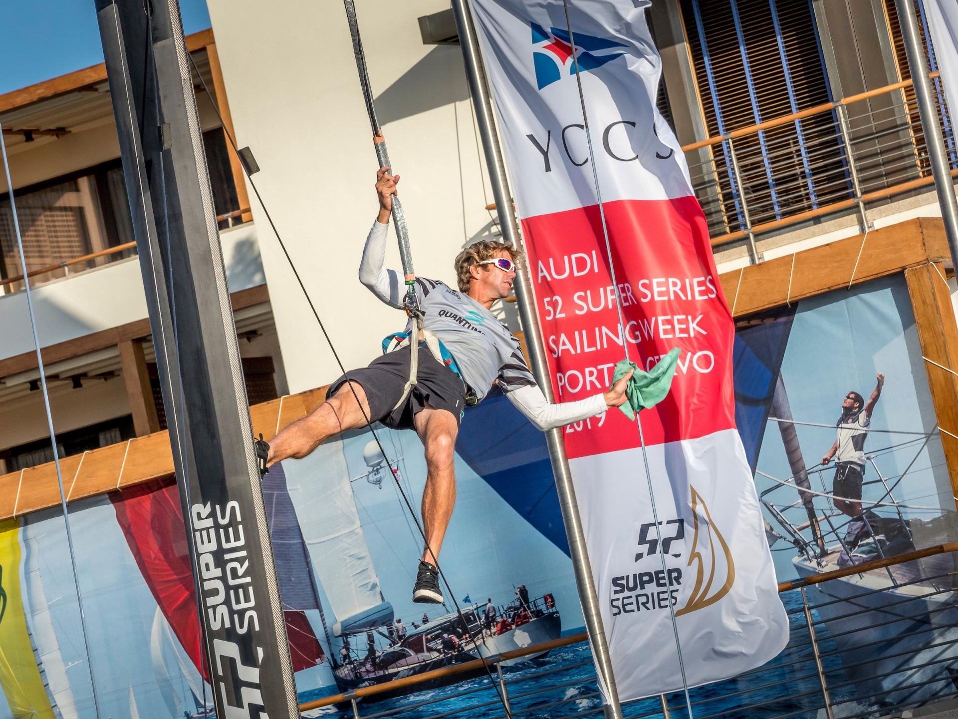 Il Maestrale è padrone sul campo di regata dell'Audi 52 Super Series Sailing Week  - NEWS - Yacht Club Costa Smeralda