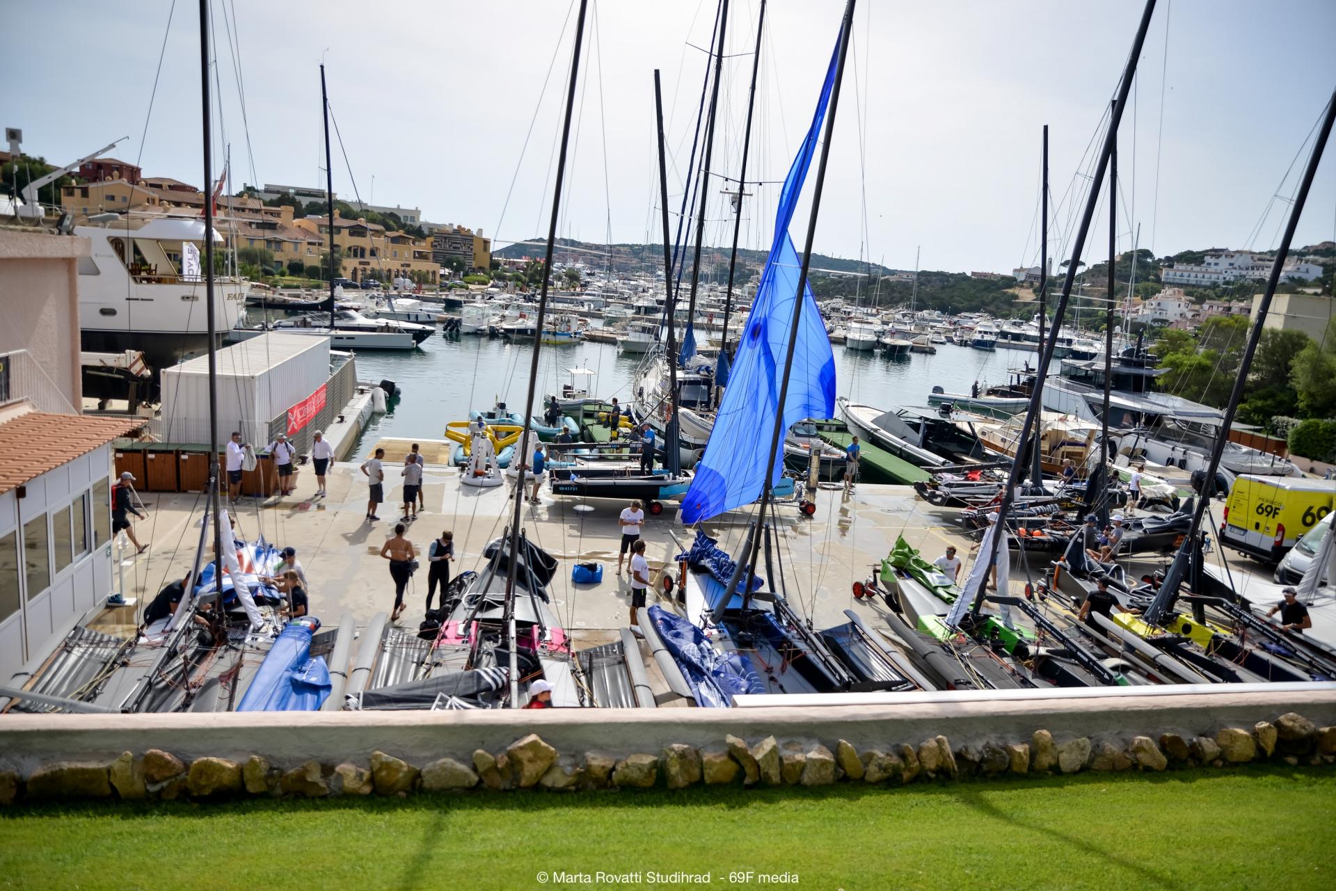 Niente regate oggi al Persico 69F Grand Prix 2.1 - NEWS - Yacht Club Costa Smeralda