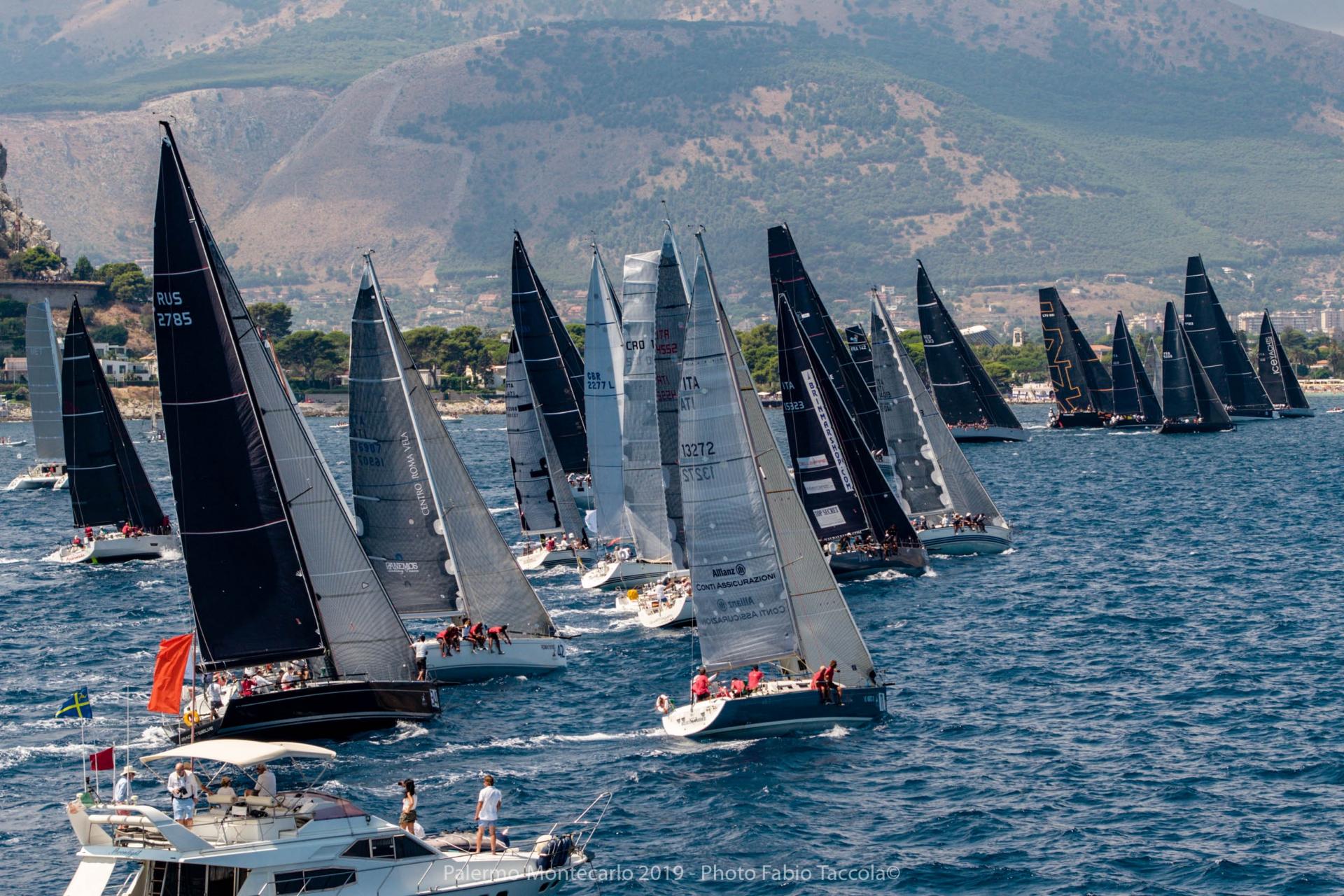 Partita oggi la Palermo - Porto Cervo - Montecarlo - NEWS - Yacht Club Costa Smeralda