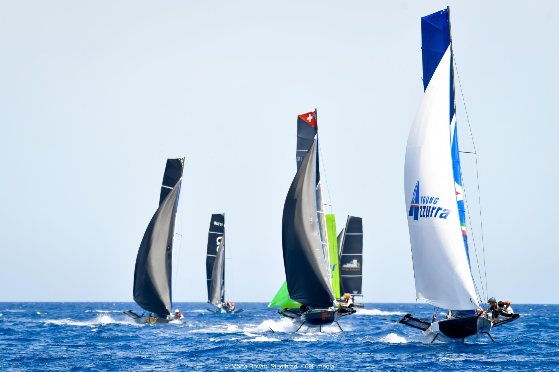 Prima giornata di regate al Persico 69F Grand Prix 2.1, al comando gli svizzeri Okalys Youth Projet - NEWS - Yacht Club Costa Smeralda