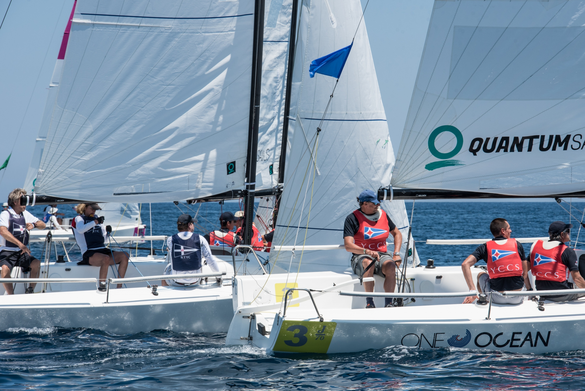 Audi Invitational Team Racing Challenge: YCCS team takes early lead - NEWS - Yacht Club Costa Smeralda