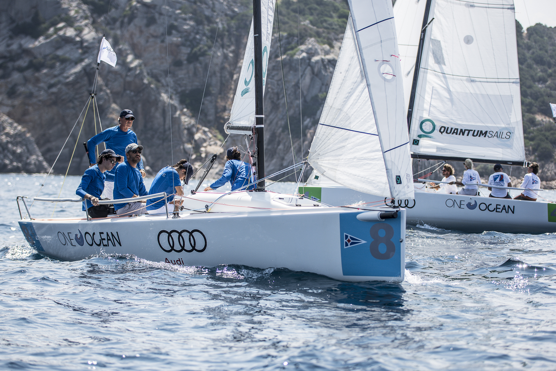 Germano Scarpa's team Members' Champion 2018 - NEWS - Yacht Club Costa Smeralda