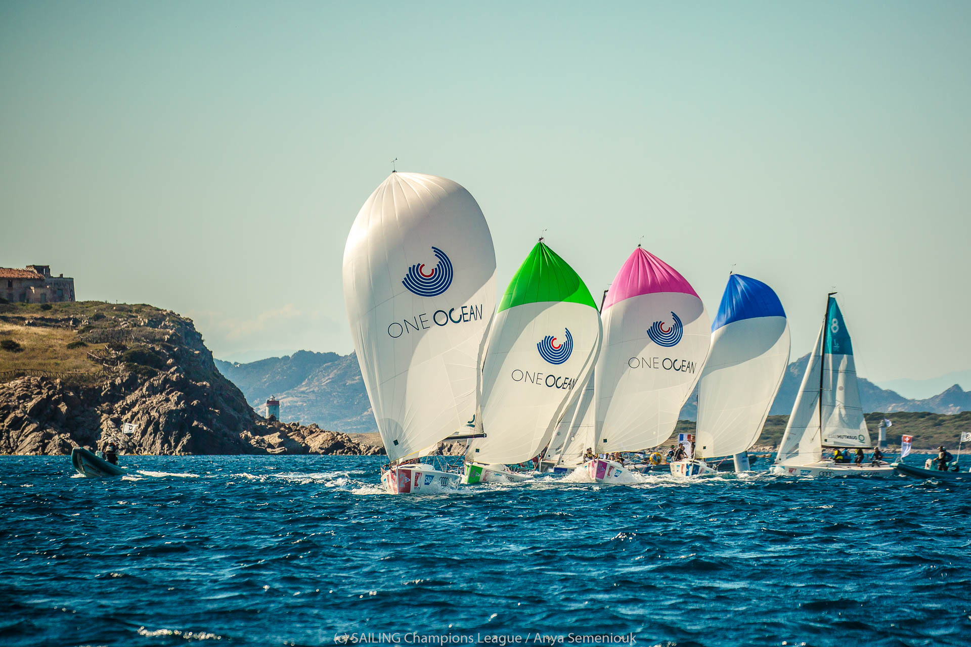Perfect weather for first day of One Ocean SAILING Champions League⠀⠀ - NEWS - Yacht Club Costa Smeralda