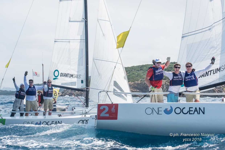 Newport Harbor Yacht Club festeggia la vittoria dell'Audi Invitational Team Racing Challenge - NEWS - Yacht Club Costa Smeralda