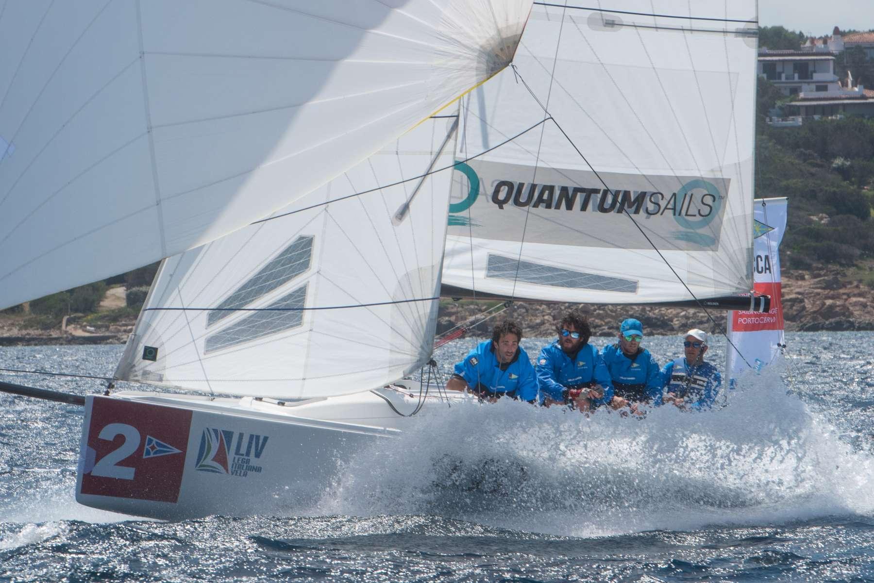 Prima giornata dell'Audi - Italian Sailing League - NEWS - Yacht Club Costa Smeralda