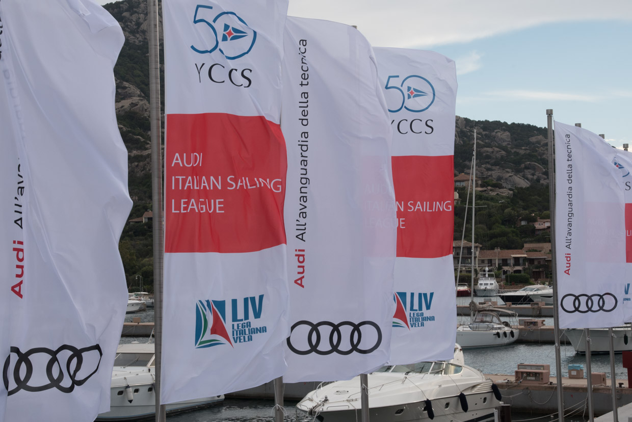 Tutto pronto per l'Audi - Italian Sailing League - Porto Cervo - NEWS - Yacht Club Costa Smeralda