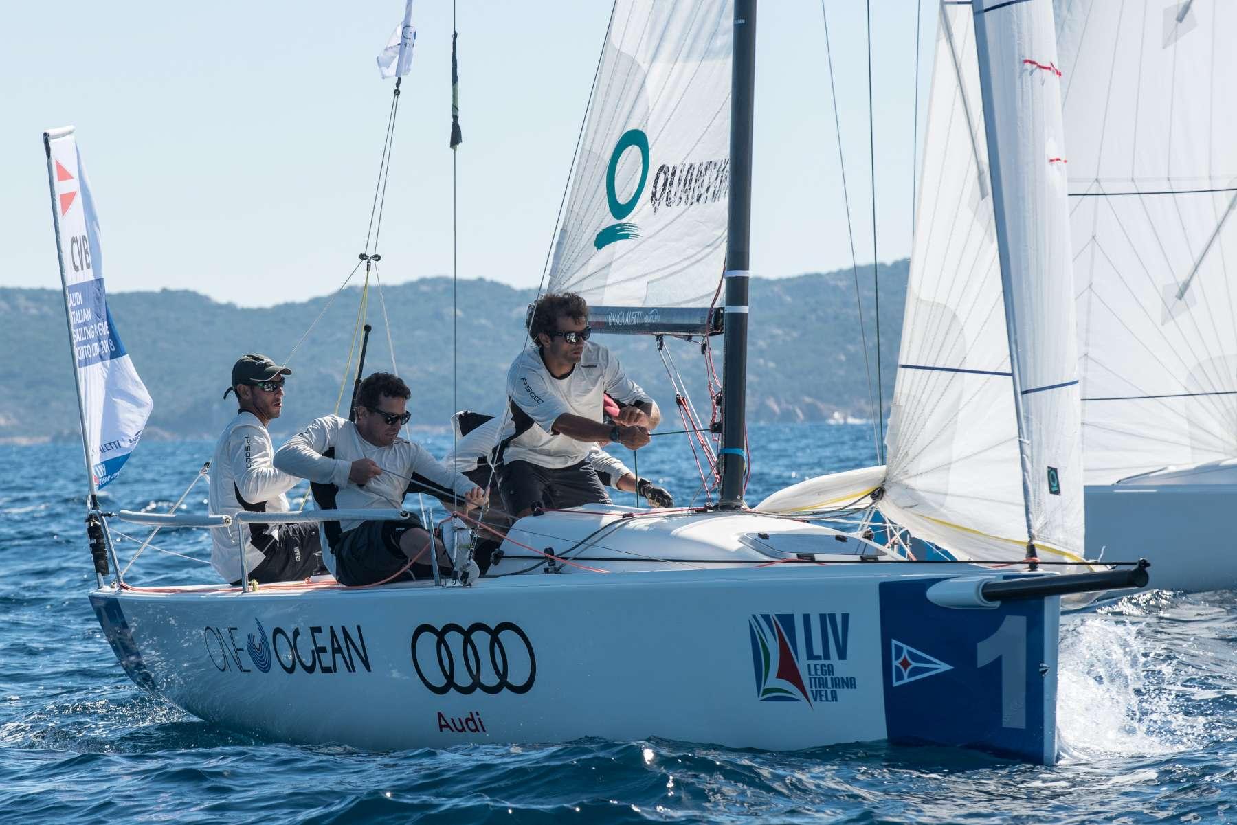 CIRCOLO DELLA VELA BARI IN TESTA ALLA FINALE DELLA  AUDI ITALIAN SAILING LEAGUE - NEWS - Yacht Club Costa Smeralda