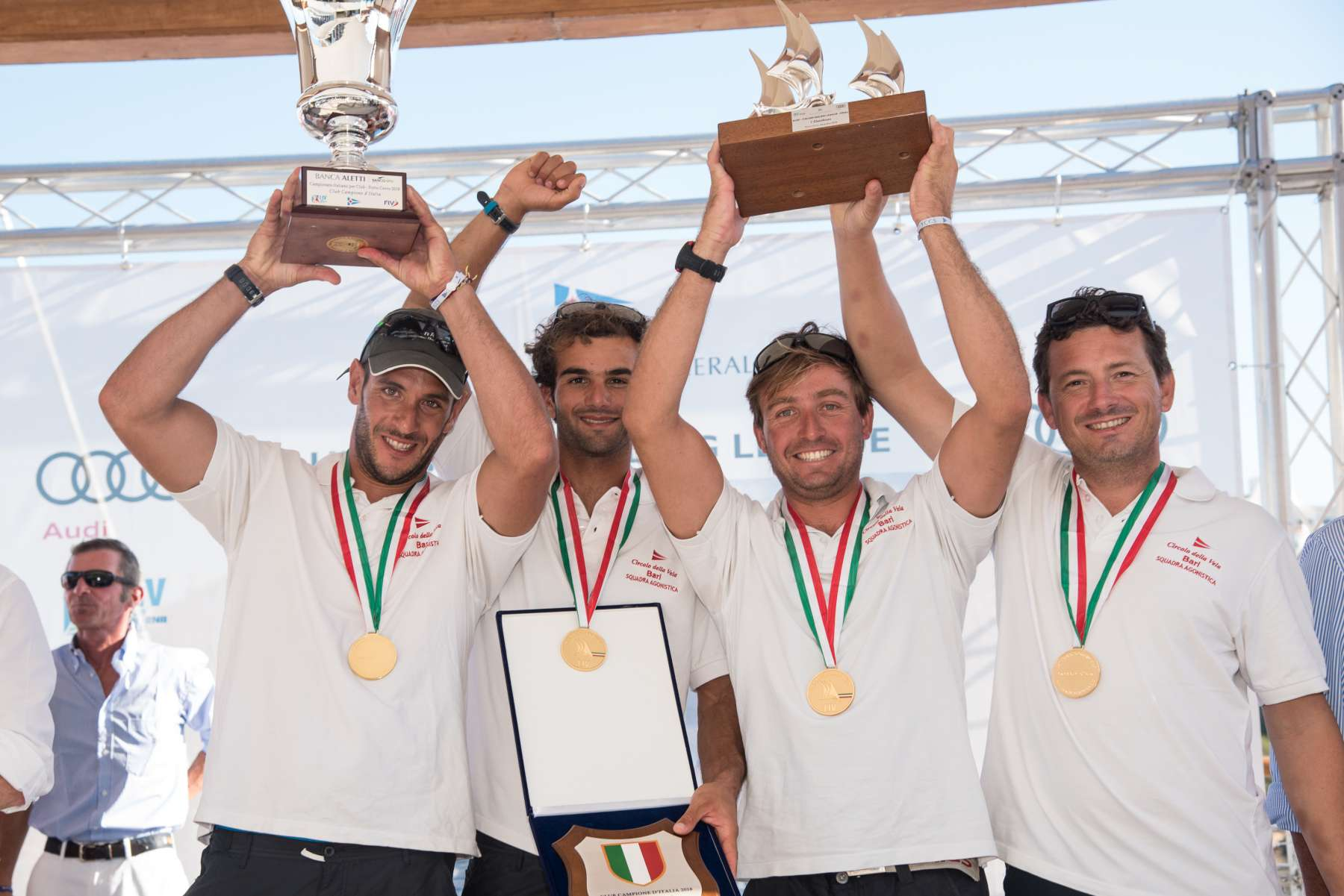Audi Italian Sailing League Final: Circolo della Vela Bari crowned National Club Champion - NEWS - Yacht Club Costa Smeralda