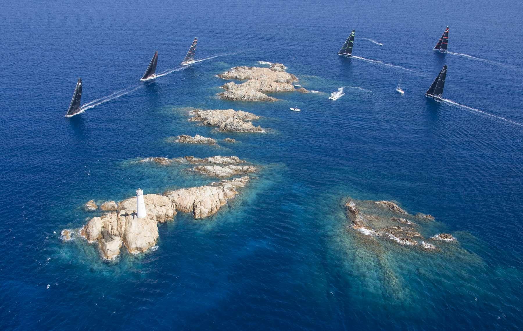 Maxi Yacht Rolex Cup: 50 regine del mare per i 50 anni dello YCCS - NEWS - Yacht Club Costa Smeralda