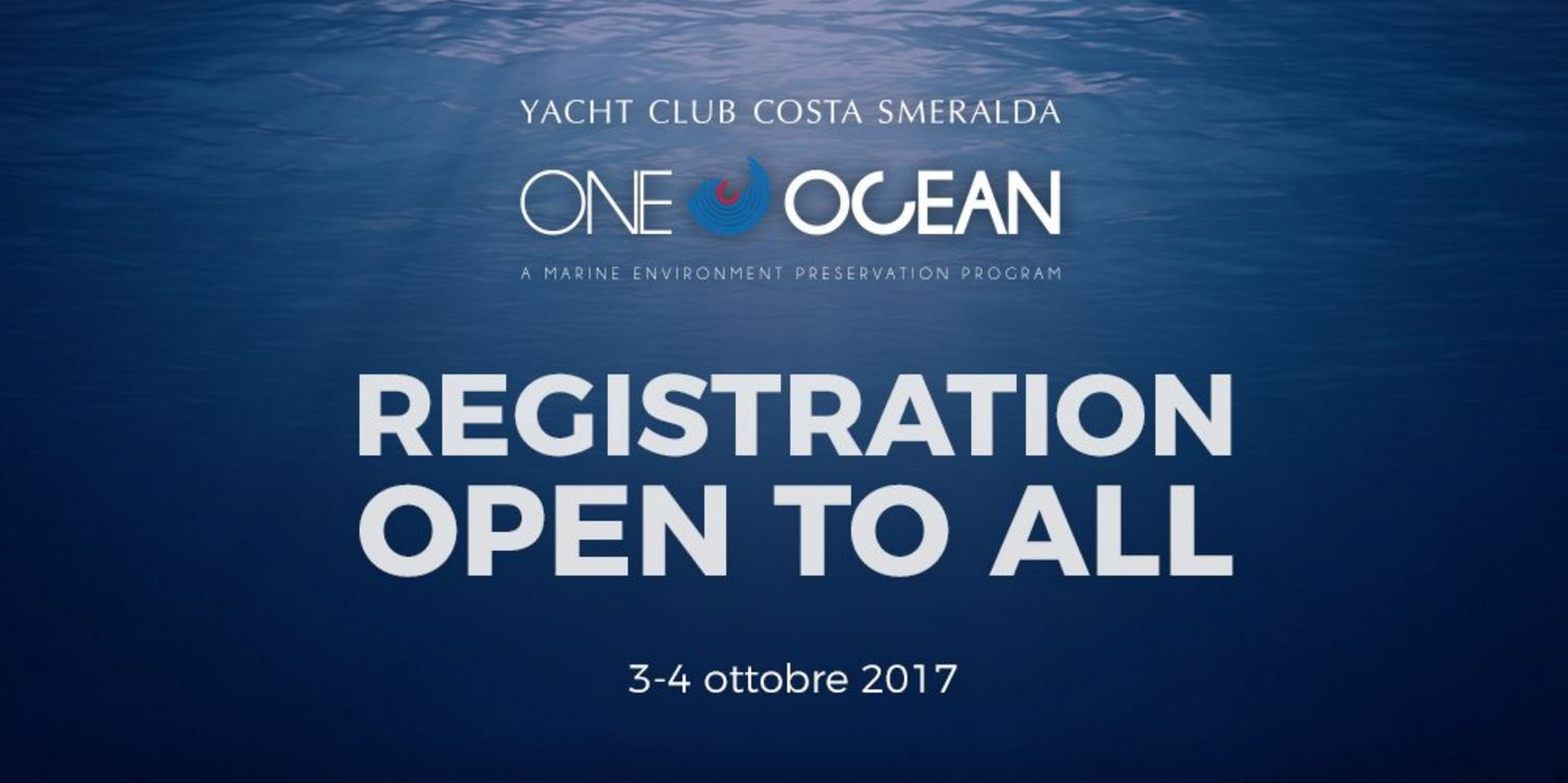 One Ocean Forum: Registration open to all - NEWS - Yacht Club Costa Smeralda
