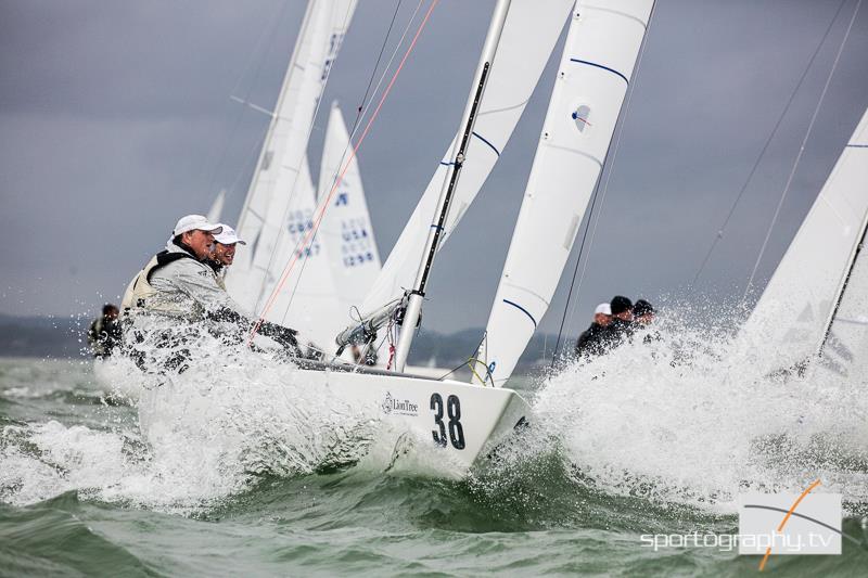Il Socio YCCS Razmilovic vittorioso alla International Etchells Bedrock Trophy - NEWS - Yacht Club Costa Smeralda